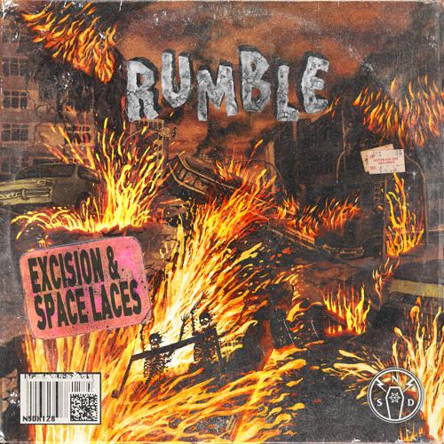 دانلود آهنگ Excision & Space Laces به نام Rumble