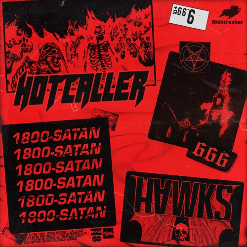 دانلود آهنگ HVWKS & HOTCALLER به نام 1800 SATAN