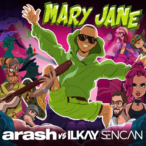 دانلود آهنگ آرش به نام مری جین | Arash - Mary Jane