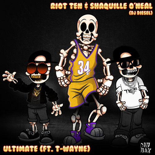 دانلود آهنگ Riot Ten & Shaquille O'Neal به نام Ultimate